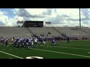 Blinn Football: Highlights vs. ASA-Miami — Aug. 22, 2015