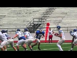 Blinn Football: Blue and White Spring Game - April 29, 2016