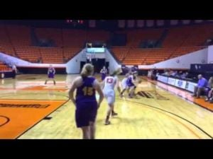 Burton Lady Panthers bi-district playoff vs. Chester — Feb. 17, 2015
