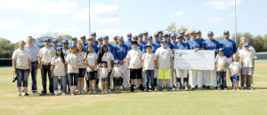 Blinn student-athletes support adoption awareness