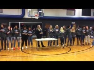 2014 Blinn Volleyball receives national championship rings — Feb. 25, 2015