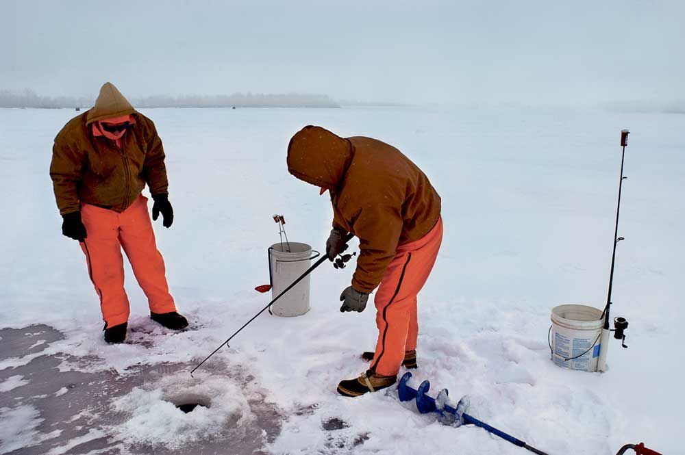 Time for common sense when it comes to lake ice news for Ice fishing extravaganza
