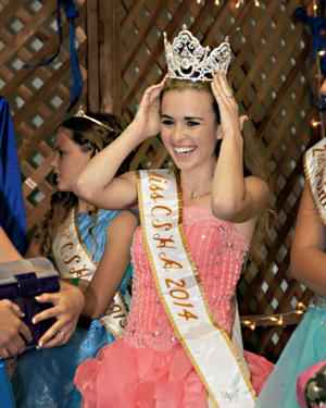 Bret Harte soph wins state pageant