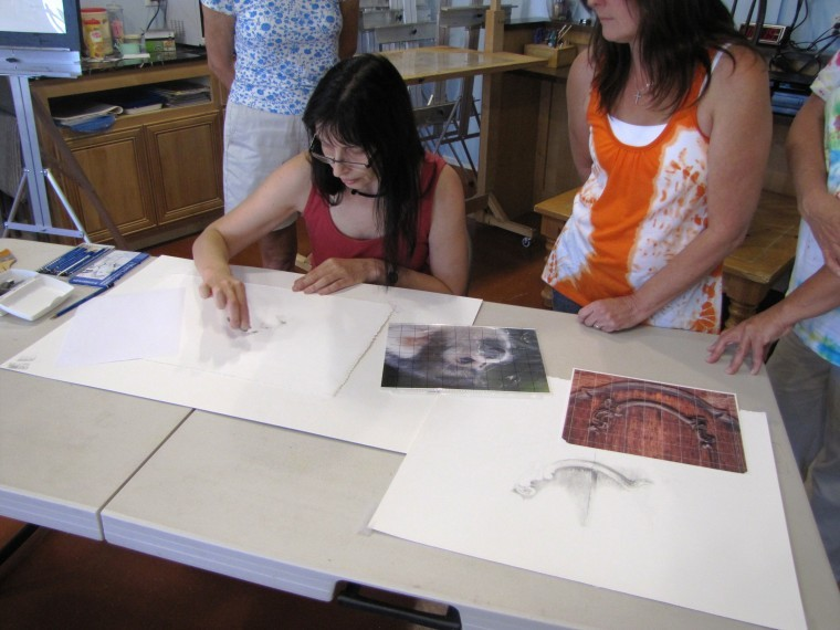 Galerie Copper offers a wide palette of art classes to community