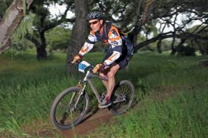 Sierra Ridge teacher wins mountain bike race