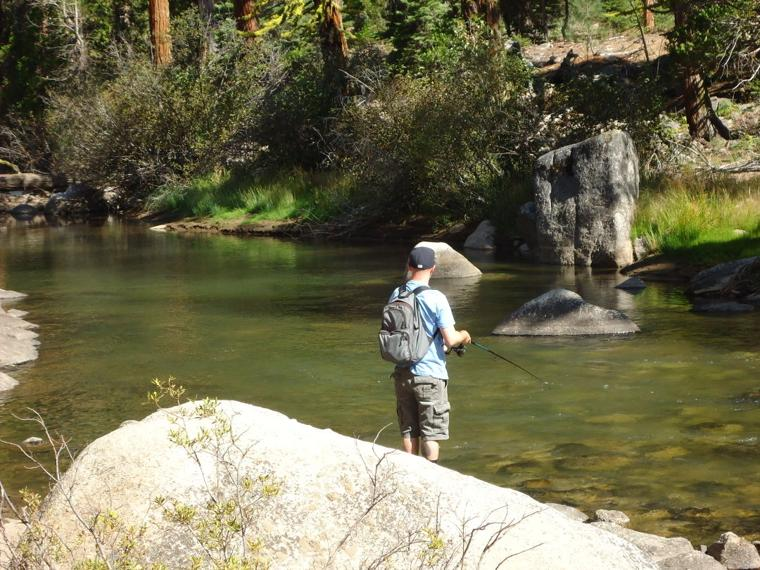 Solid gold fishing fun to discover a now favorite spot for Stanislaus river fishing