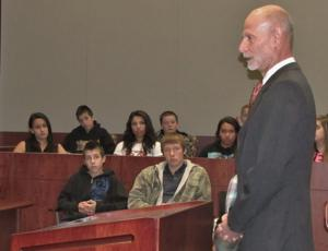 Courtroom lecture