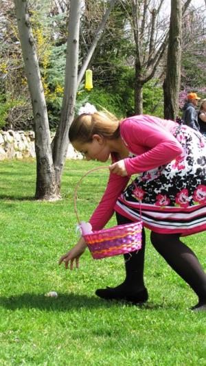 Kids have 'hoppy' Easter at Ironstone