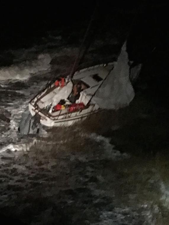 Coast Guard Rescues Two off Fortescue, N.J.