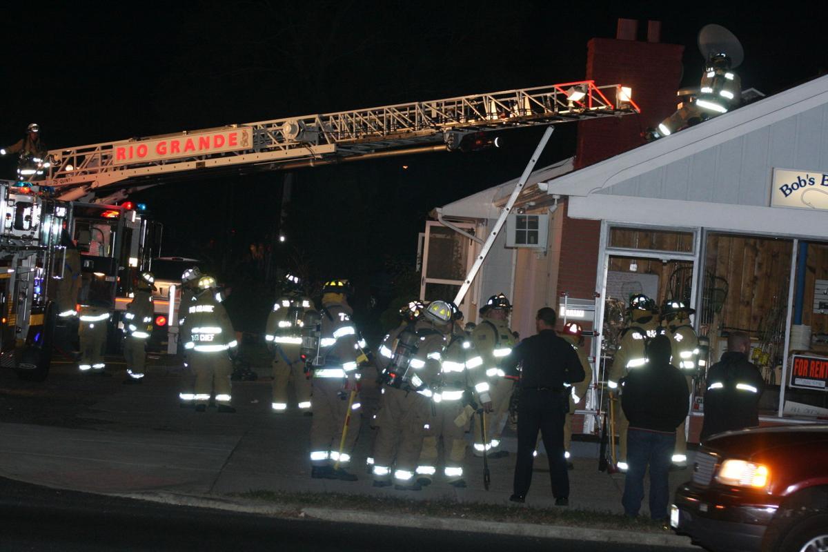 Chimney Fire at Rio Grande Tackle Shop