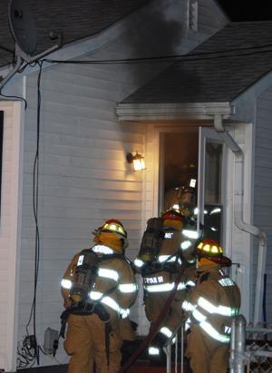 Chimney Fire at Rio Grande Tackle Shop Cape May County