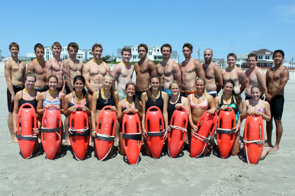 New Lifeguards Getting Ready For The Summer Season in Dalmatia