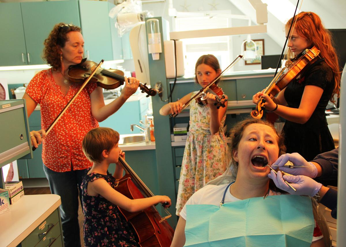Teen Quartet Plays 49