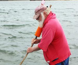 Commercial Shellfishing In Popponesset Bay