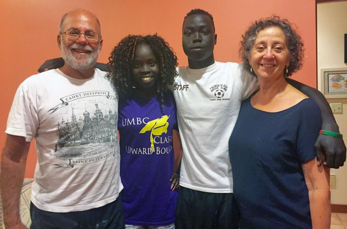 Falmouth Couple Hosts Ethiopian Refugees