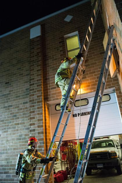 Pierre Fire Department Conducts A Night Training Local