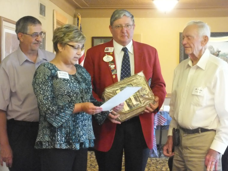 Pierre-Fort Pierre Lions Club Presents a Melvin Jones Fellowship