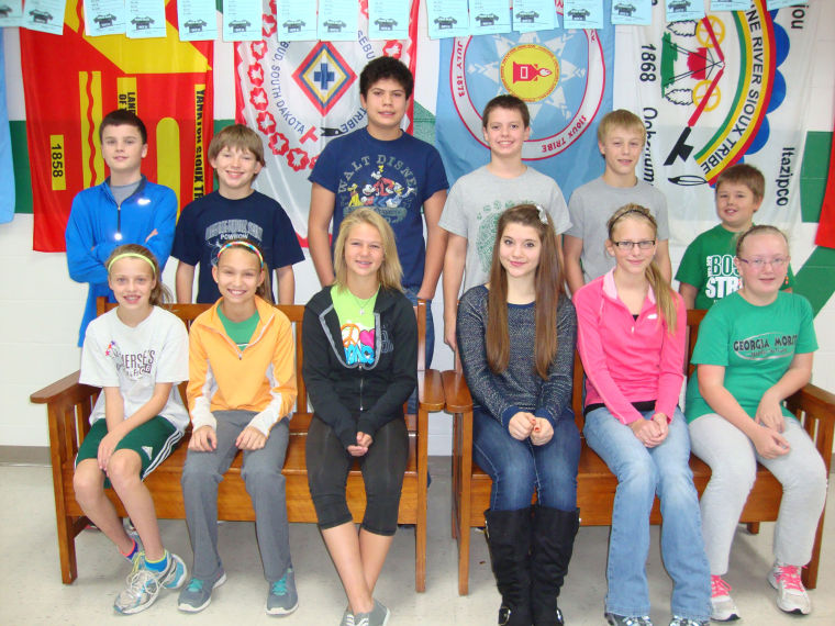Georgia Morse Students of the month