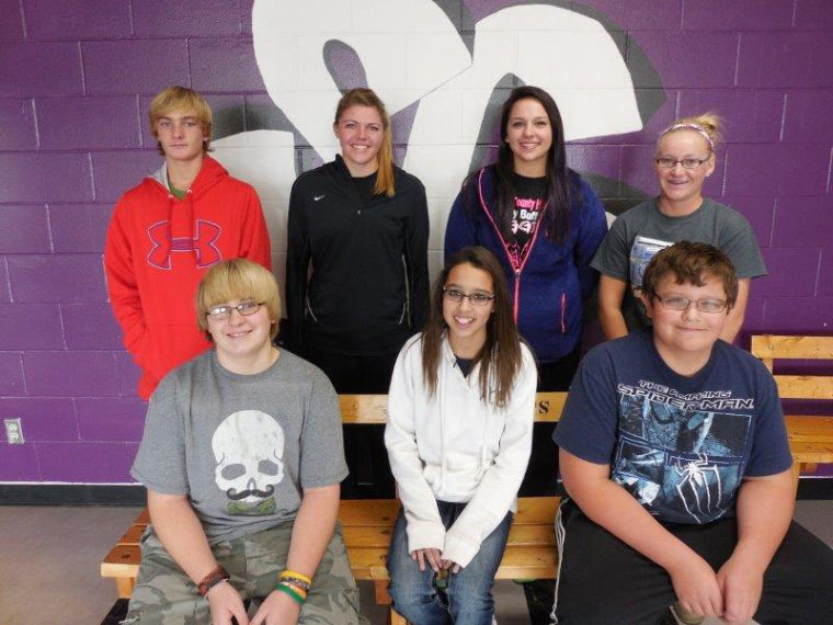 Stanley County Students of the month