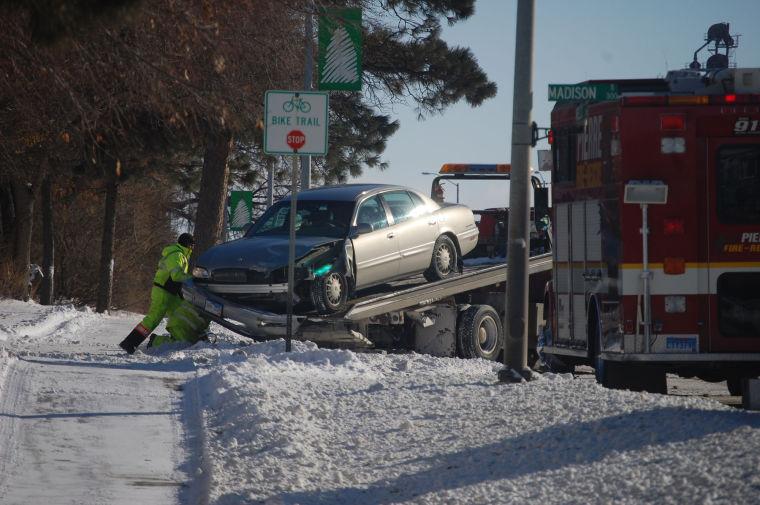 Slick Roads Cause Three Car Collision In Pierre Local