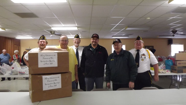 Elks veterans project for Beck motor company pierre sd