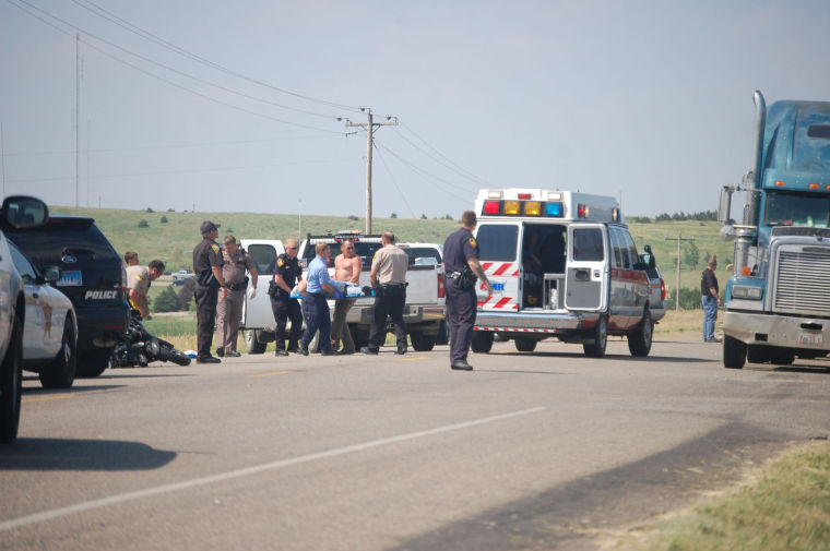 Motorcycle Collision On Highway 1804 Access