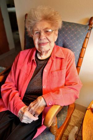 Local woman Irene Caldwell turns 100