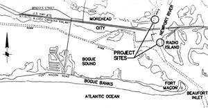 Barge-mooring areas