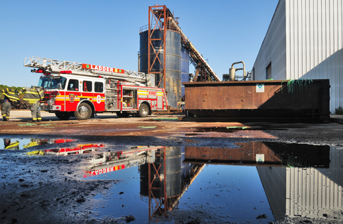 Departments respond to AV fire