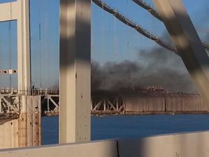 Bay Bridge fire