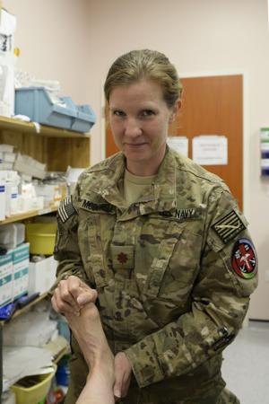 McDowell serves in Afghanistan