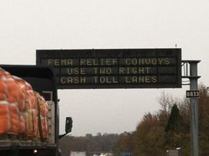 Toll waiver