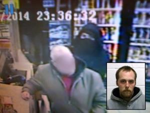 Liquor store robbery arrest