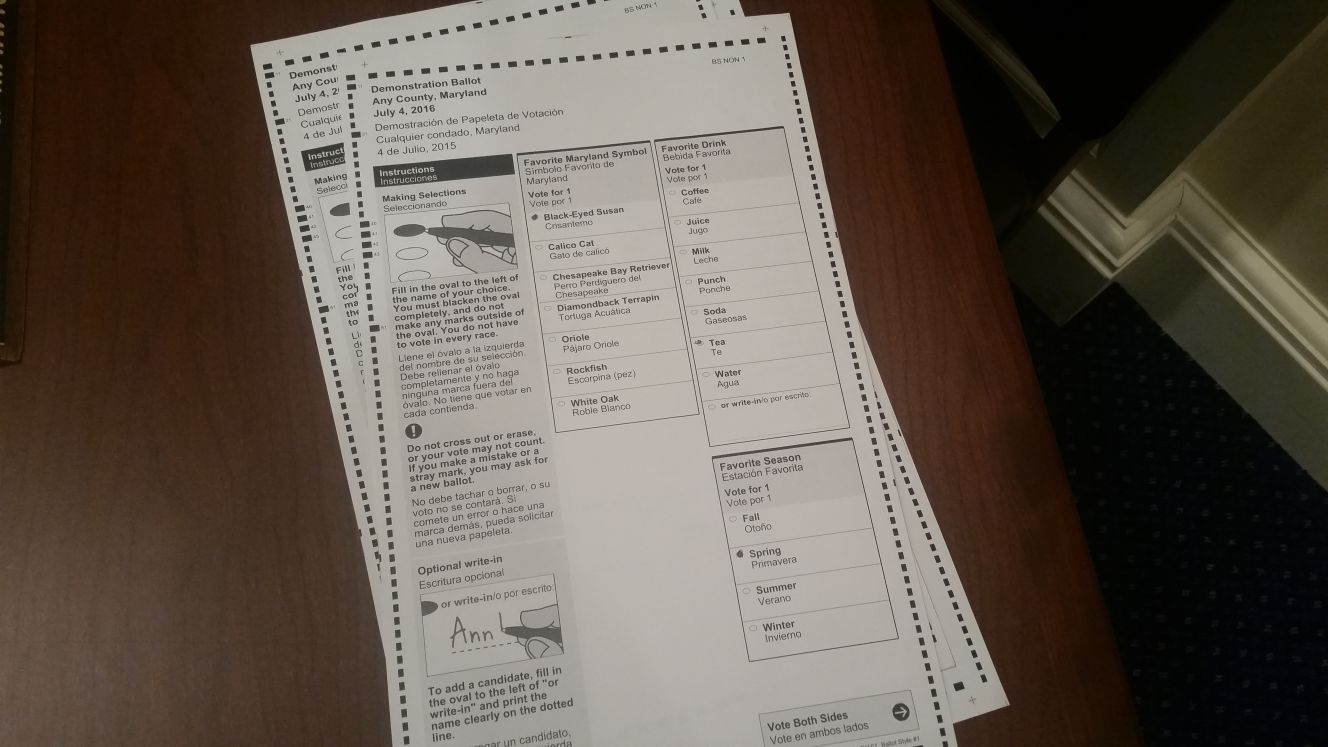 Paper ballot system will be ready for April 2016 primary elections ...