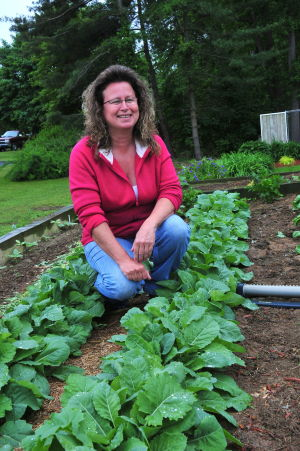 How's your garden? Cindy Perry, of Earleville