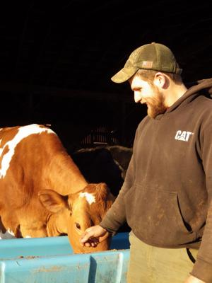 Calvert herd manager named 'Outstanding Young Farmer'