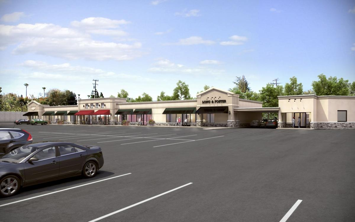 This is an artist s rendering of the completed renovation of the