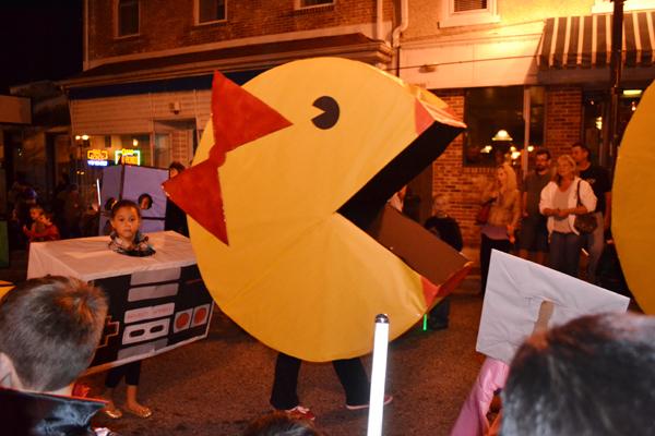 Elkton Halloween parade