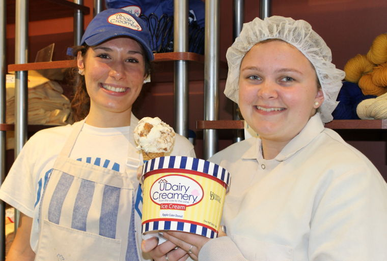 Apple cider doughnut ice cream a big hit for Milburn Orchards | Local ...