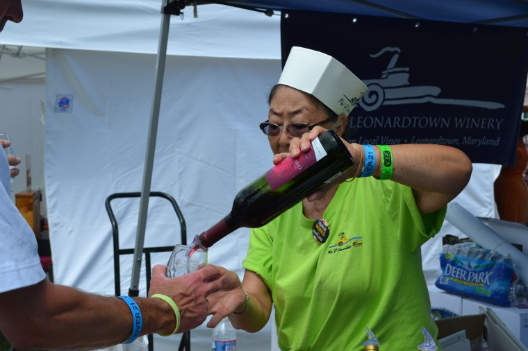 Cecil Food & Wine Festival draws large crowd