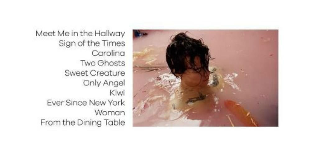 Harry styles 39 solo album tracklist and release date for Dining table harry styles
