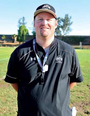 Ontario Christian head coach Matt Hoekstra
