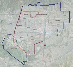 Inland Empire Utilities Agency service area