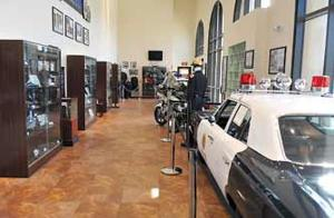 The Chino Police Department museum