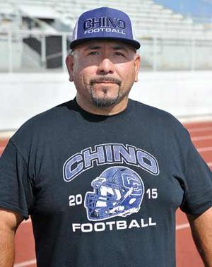 Chino High head coach Jesse Ceniceros