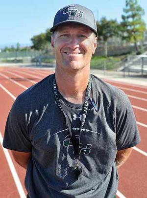 Chino Hills head coach Chris Stevens