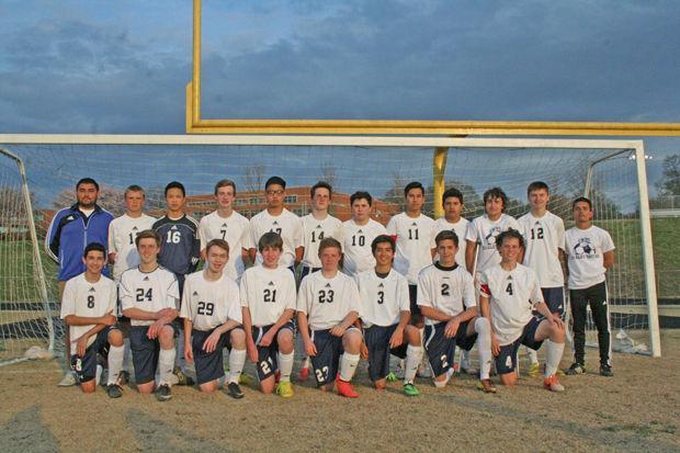 George Washington High School JV Boys Soccer Team  Chatham Star