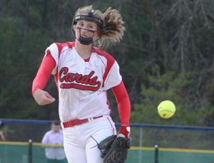 Photos: Eau Claire Memorial at Chi-Hi softball, 4-16-15