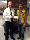 Local Lions Clubs support the new Menomonie High Stadium