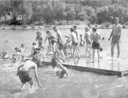 Campbell Old Swimming Holes Were Classic Sometimes